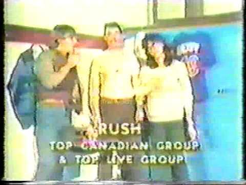 Rush Award Show