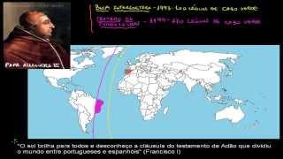 Grandes Navegações #1 - O que é Tratado de Tordesilhas e Bula Intercoetera