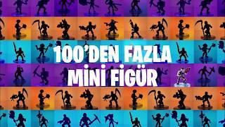 Yeni Fortnite Mini Figürleri Şimdi Türkiye'de!