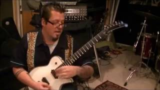 How to play Lonely Is The Night by Billy Squier on guitar by Mike Gross