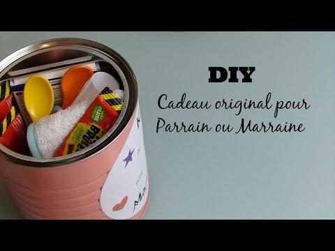 """[ Tutoriel N°9 ] : DIY """"Kit De Survie"""" Pour Parrain Ou Marraine"""