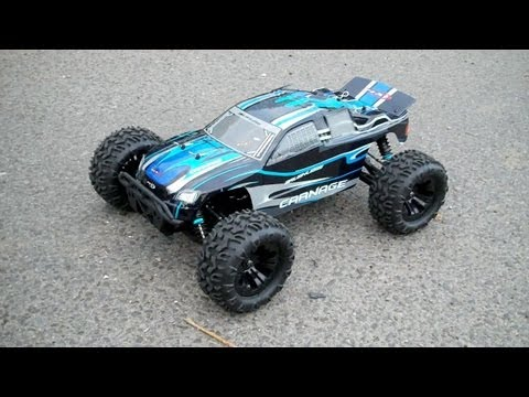 FTX Carnage brushless: The first bash
