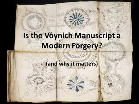 Is The Voynich Manuscript a Modern Forgery? (and why it matters)