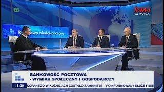 Rozmowy niedokończone: Bankowość pocztowa – wymiar społeczny i gospodarczy cz.I