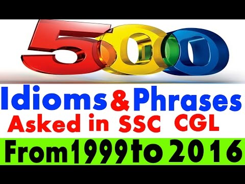 //Part-01//500 Most Important Idioms & Phrases