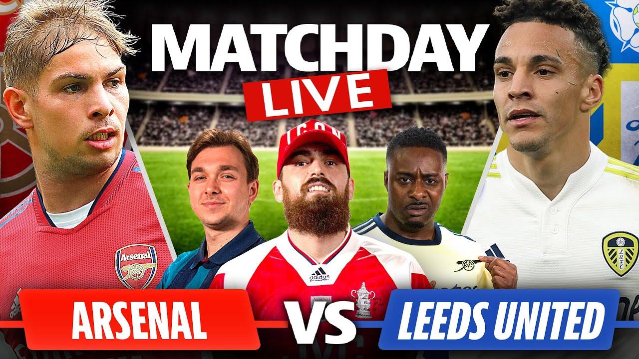 Download Arsenal vs Leeds United | Match Day Live