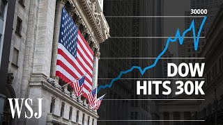 Dow Reaches 30K; Watch How These Stocks Defied the Pandemic | WSJ
