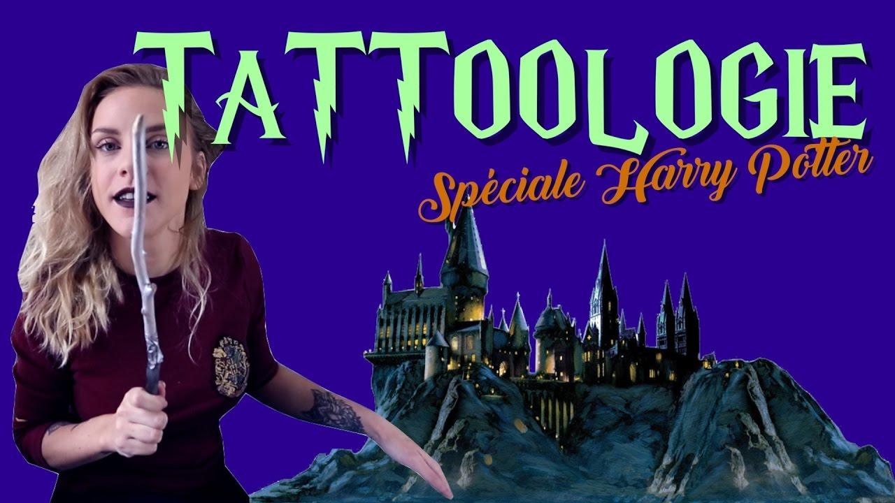 Tattoologie Anti Moldus Les Plus Beaux Tatouages Harry Potter Youtube