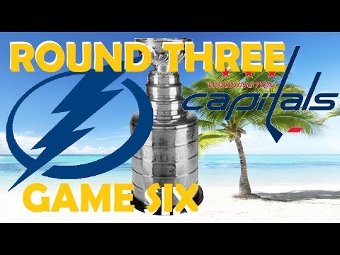 NHL - Washington Capitals vs Tampa Bay Lightning - Game 6 - Stanley Cup Playoffs