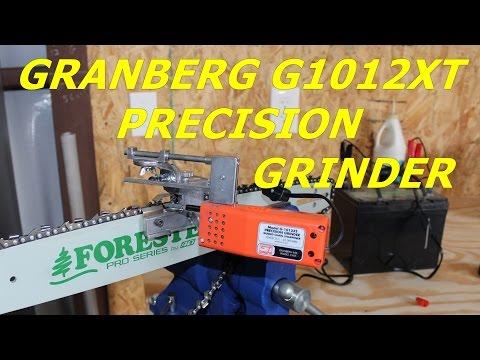 Granberg G1012XT 12 Volt Chainsaw Chain Sharpener/Grinder