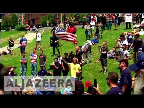 The Listening Post - Charlottesville: White supremacy and the White House