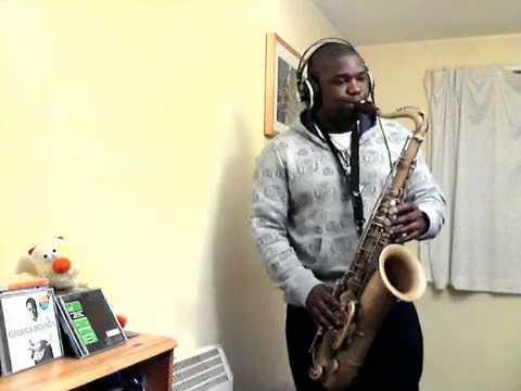 saxophone player plays mr saxobeat vs j lo vs george michael...sax player!