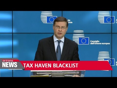 EU names 17 countries, including South Korea, on its first-ever tax haven blacklist