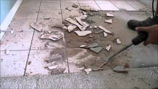 Tile Removal Made Easy DIY