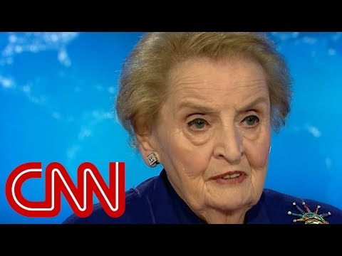 Madeleine Albright: Trump almost a gift to Putin