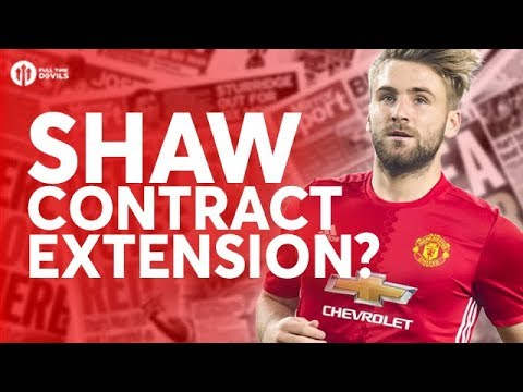 Luke Shaw Extension? Manchester United Transfer News Today! #64