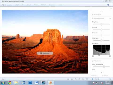 Edit Pictures In Windows 7