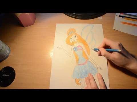 Как нарисовать Блум Гармоникс