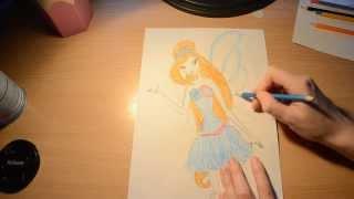 Как нарисовать Блум Гармоникс(Гармоникс одно из воплощений Блум., 2013-11-01T16:36:21.000Z)