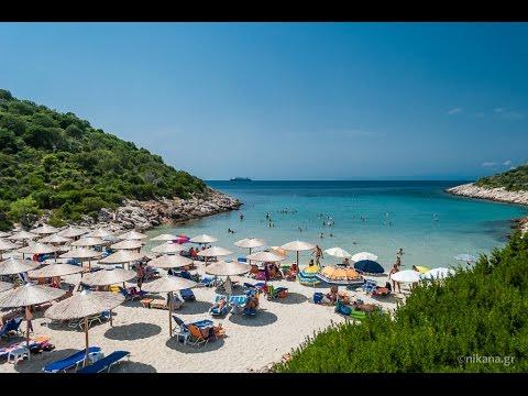 Atspas Beach Near Skala Maries On Thassos Greece
