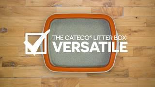 The Cateco Litter Box - Versatile