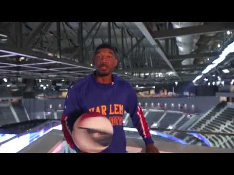 Catwalk Shot At T-Mobile Arena | Harlem Globetrotters
