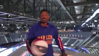 Catwalk Shot At T-Mobile Arena   Harlem Globetrotters