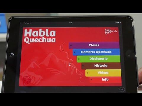 Habla Quechua, Un App Que Tenemos Que Descargar!