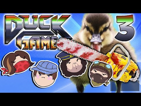Duck Game: Quack of Dawn - PART 3 - Steam Rolled