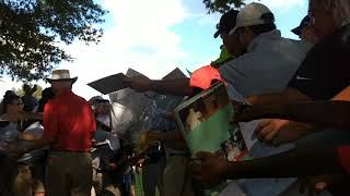 8-year-old Alabama golfer meets Tiger Woods