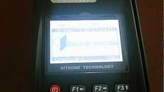 Conformación de Cheque (Credicard Venezuela) en POS New8110 GPRS