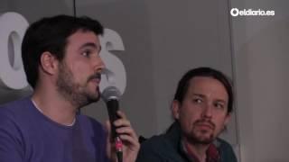 """Alberto Garzón: """"Las clases medias europeas son las perdedoras de la globalización"""""""
