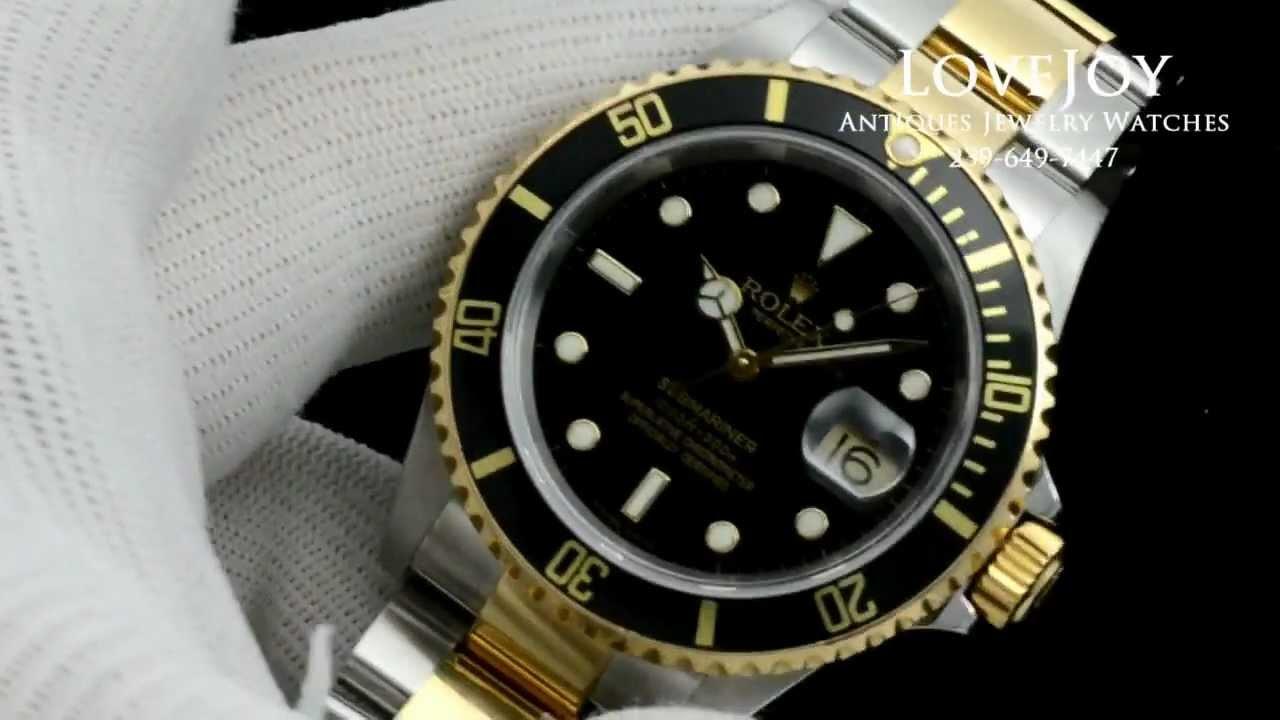 Rolex Submariner Black Two Tone