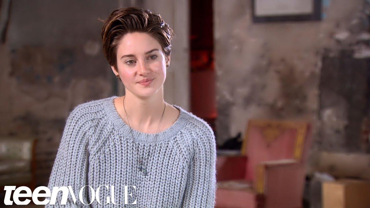 Shailene Woodley Talks About Her Character Hazel in 'The ...