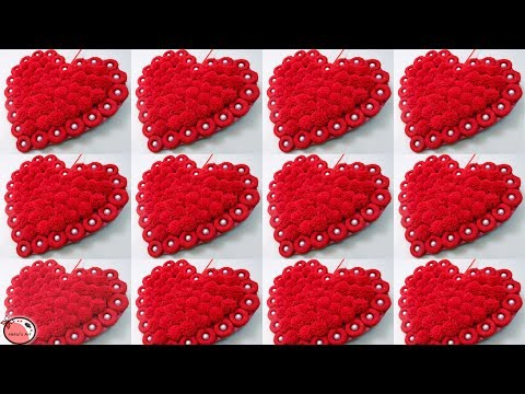 10 DIY ROOM DECOR 2019 !!! Heart Showpiece | Valentine Day Gift Ideas