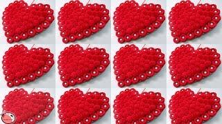 10 DIY ROOM DECOR 2019 !!! Heart Showpiece | Valentine Day Gift Ideas