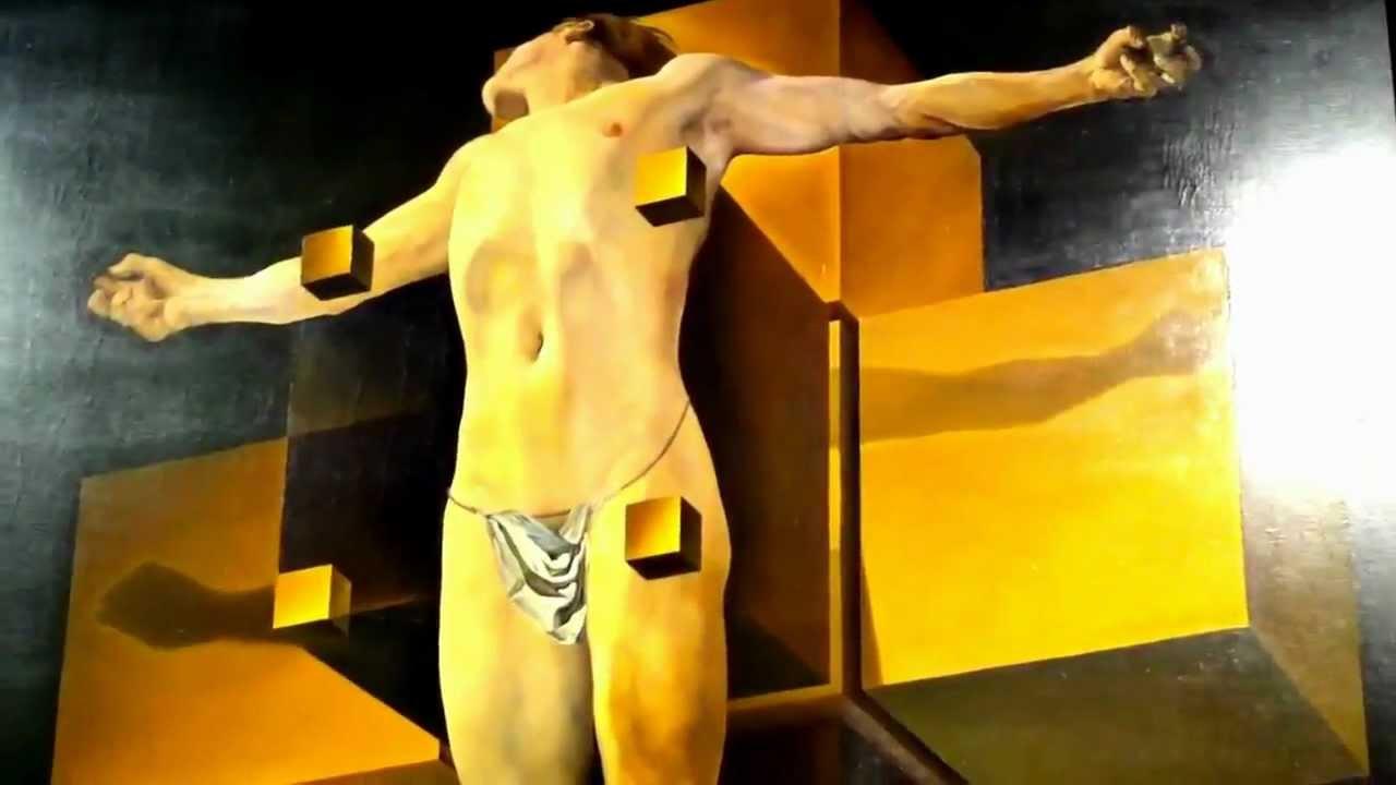 salvador dali jesus hypercube