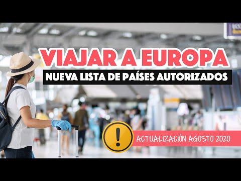 Unión Europea actualiza países autorizados para viajar | Volver a viajar a Europa