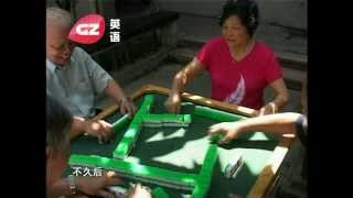 Chinese game: How to play mahjong? Fun, fun, fun...