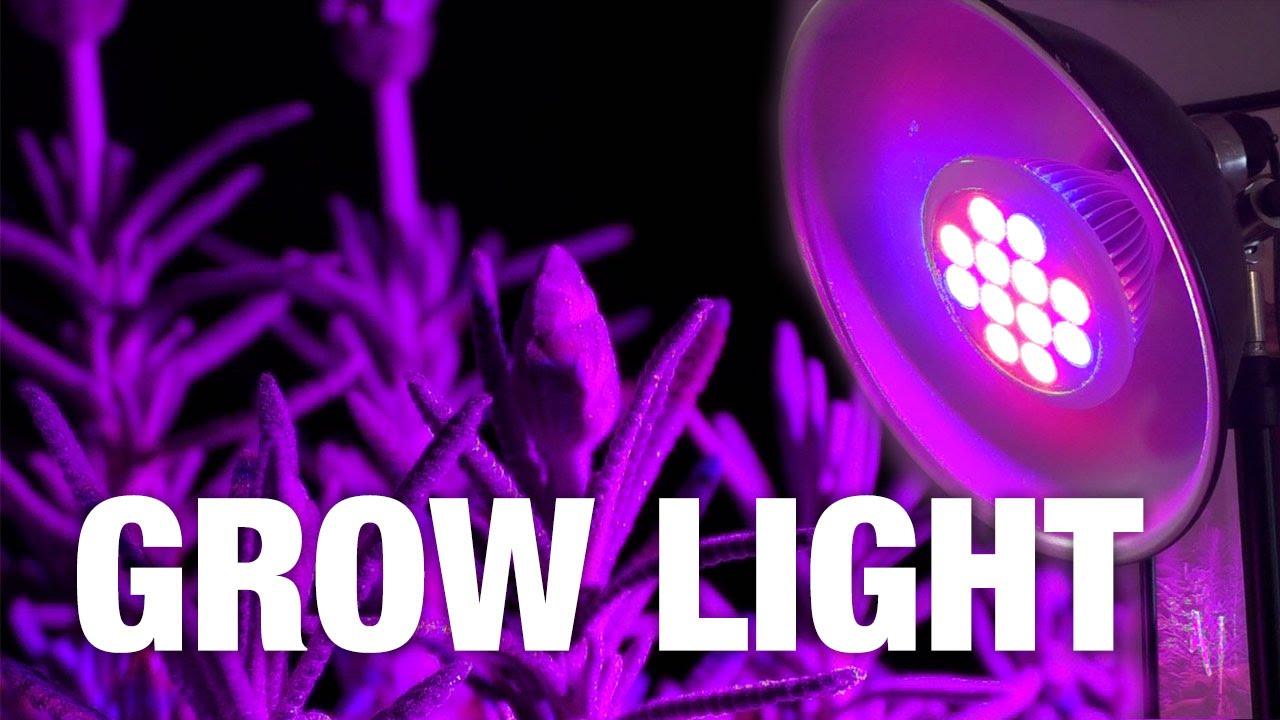 Lampade coltivazione indoor 12w led per far crescere le piante in