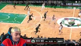 Celtics FLOPPED... Westbrook 41 Pts OT! Flightreacts Rockets vs Celtics - Full Game Highlights 2020