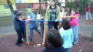 GIMNASIOS AIRE LIBRE, MODULOS LUDICOS, WWW.SOLUCIONESDEPORTIVAS.COM.MX