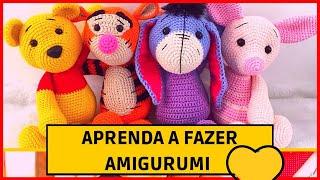 Amigurumi Receitas | Amigurumi Passo a Passo | Amigurumi De Crochê