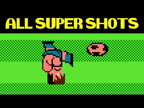Nintendo World Cup  ALL SUPER SHOTS including two secret super shots of USA