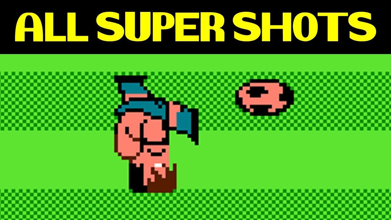 Nintendo World Cup – ALL SUPER SHOTS (including two secret super shots of USA)