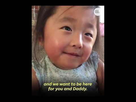 Sweet girl tells adoptive mom her 'heart fell in love' the first time they met