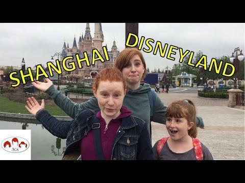 SHANGHAI DISNEYLAND: SNEAK PEEK & TRON! // 3 Ginger Sisters