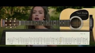 Gitar Dersleri - Yine Sev Yine  (Tuğba Yurt )  - Taci Hoca : 0543 232 91 22 Video