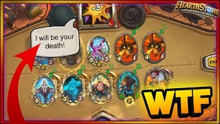 KRIPP NEW OTK WITCHWOOD WTF Moments - Hearthstone Daily Funny Rng Moments