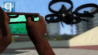 THE DRONE CHALLENGE! | Gmod Sandbox Fun